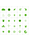 Image ecological icons