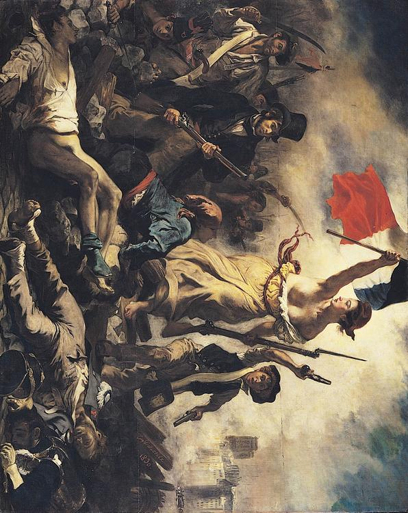 Eugene Delacroix - Liberty Leading the People -French revolution