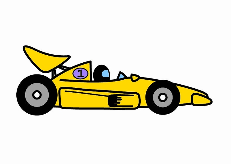 Image F1 racing car