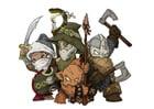 Image fantasy characters