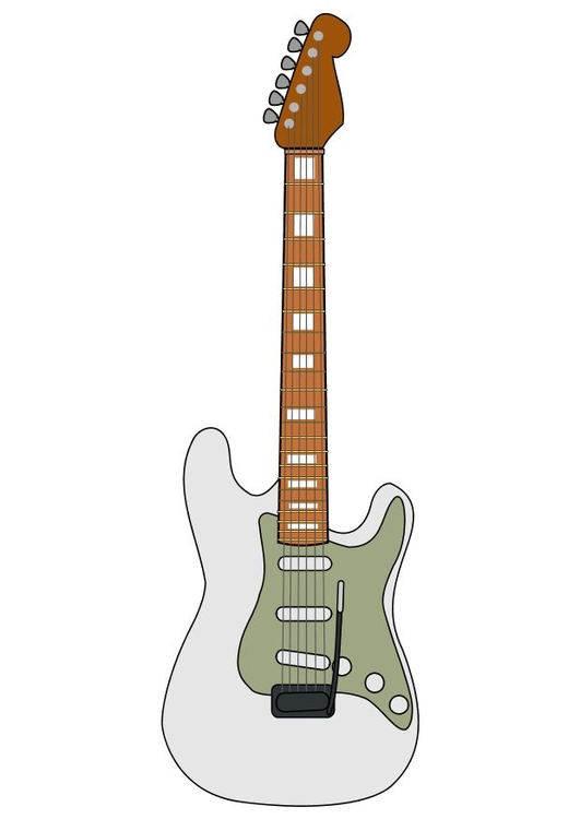 Image Fender electric guitar
