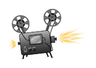 Images film projector