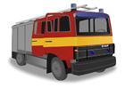 Image fire engine