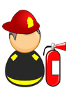 Images fireman