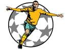 Image football goal