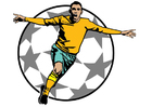 Images football goal