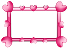 Images frame of hearts