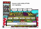 Image fresh vegetables and fruit