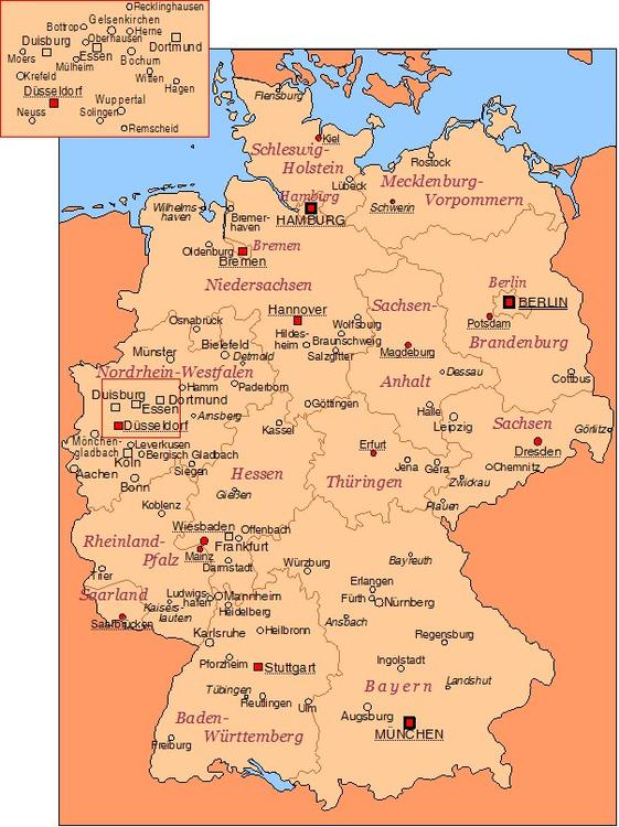 Germany - cities