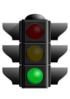 Image green traffic light