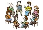 Image group conversation