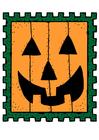 Image Halloween stamp