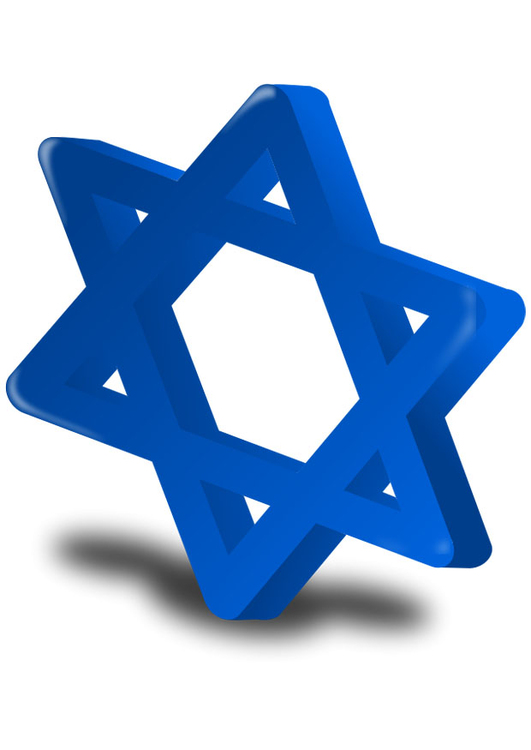 Image Hannukah - Star of David