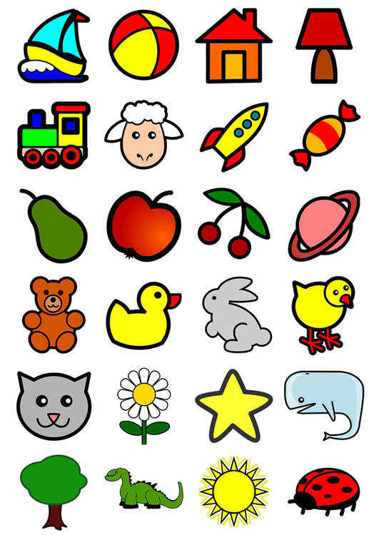 Image icons for infants