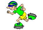 Image inline skating