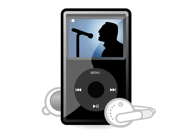 Image ipod mp3 player