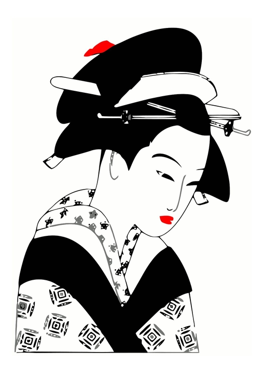 Image Japanese lady