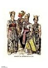 Image Javanese dancers 19th Century