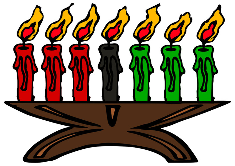 Image Kwanzaa - candles