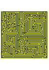 Image labyrinth - yellow