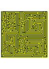 Image labyrinth - yellow