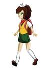 Image manga girl