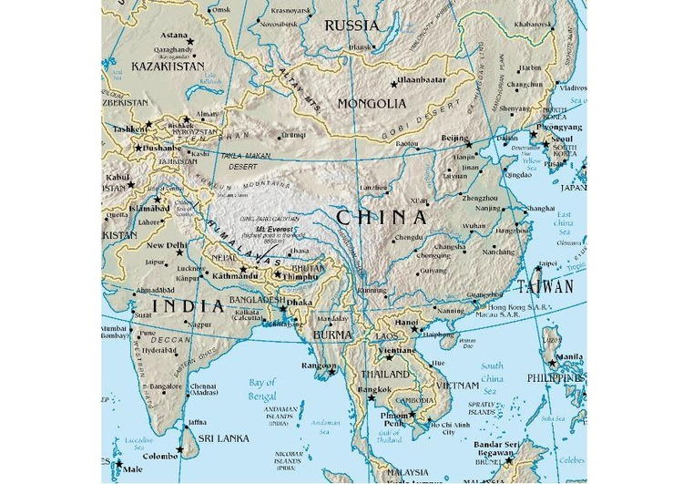Image map China