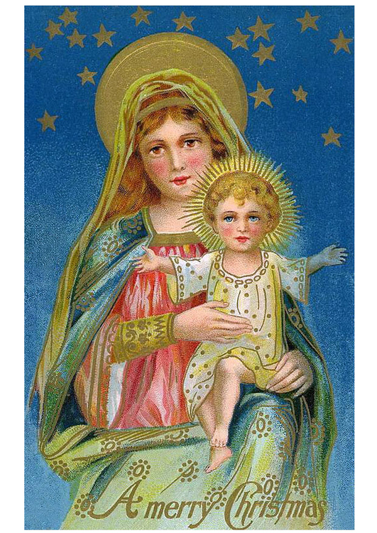 Image Mary with Jesus