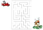 Image maze fire brigade