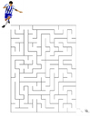 Image maze football