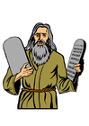 Moses - the ten commandments