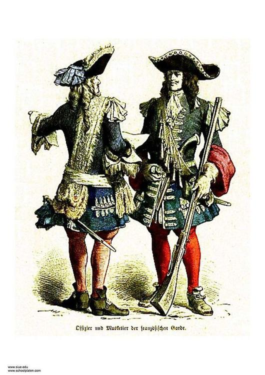 musketeer 17th century