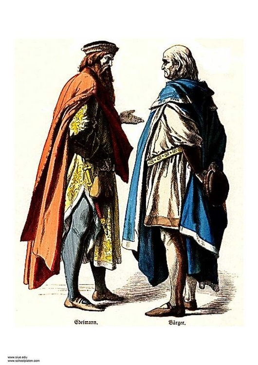 Image nobleman and citizen