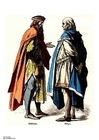 Images nobleman and citizen