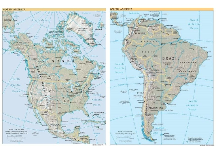 Image North and South America