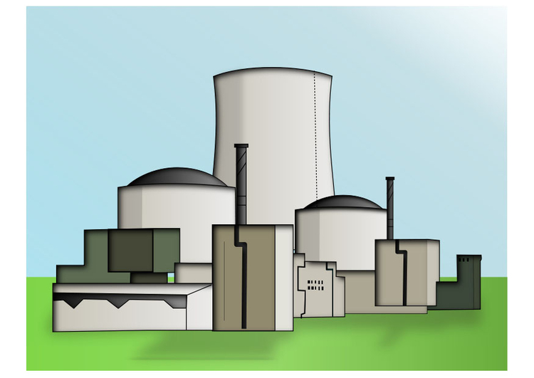 Image nuclear power station