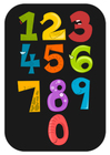 Image numbers