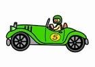 Image oldtimer racing car