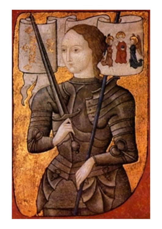 Image painting - Joan of Arc