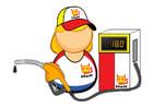 Image petrol station employee