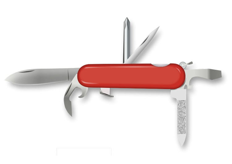 Image pocket knife