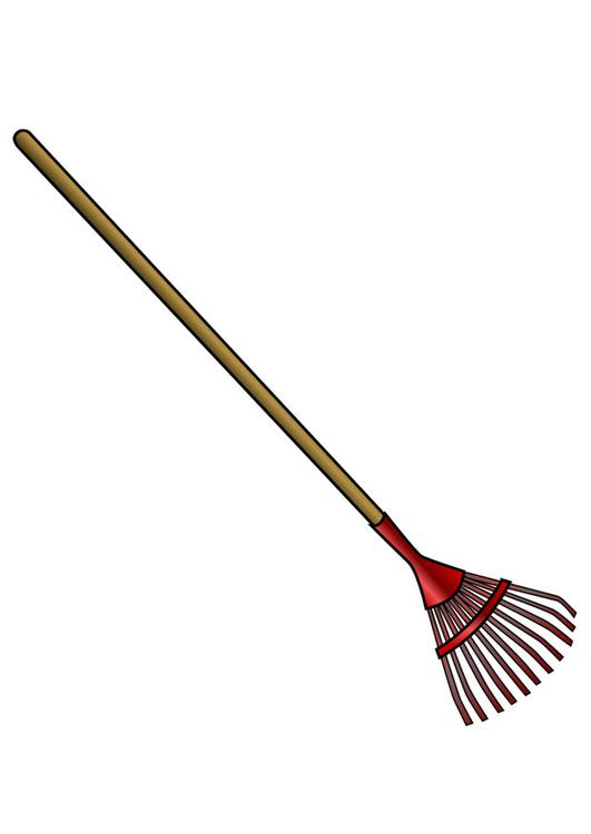 rake for leaves
