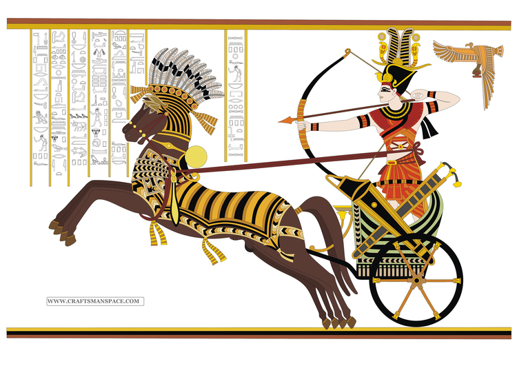 Image Ramesses II - Battle of Kadesh
