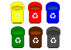 Image recycling containers