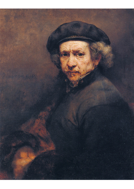 Image Rembrandt - Self Portrait