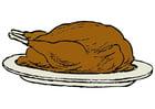 Image roasted turkey