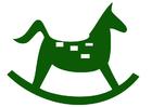 Image rocking horse