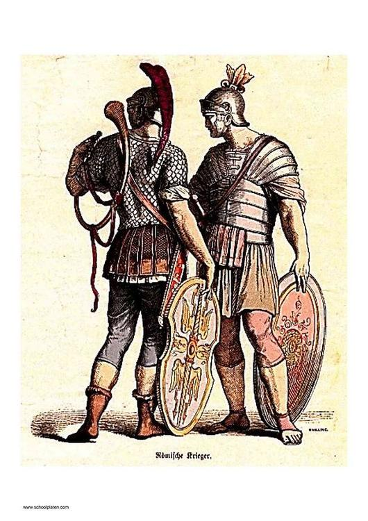 Roman soldiers
