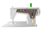 Image sewing machine