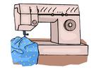 Image sewing machine